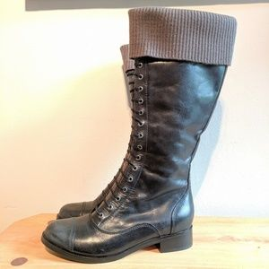 New! Cole Haan Nike Air Whitley Knit Lace Boot